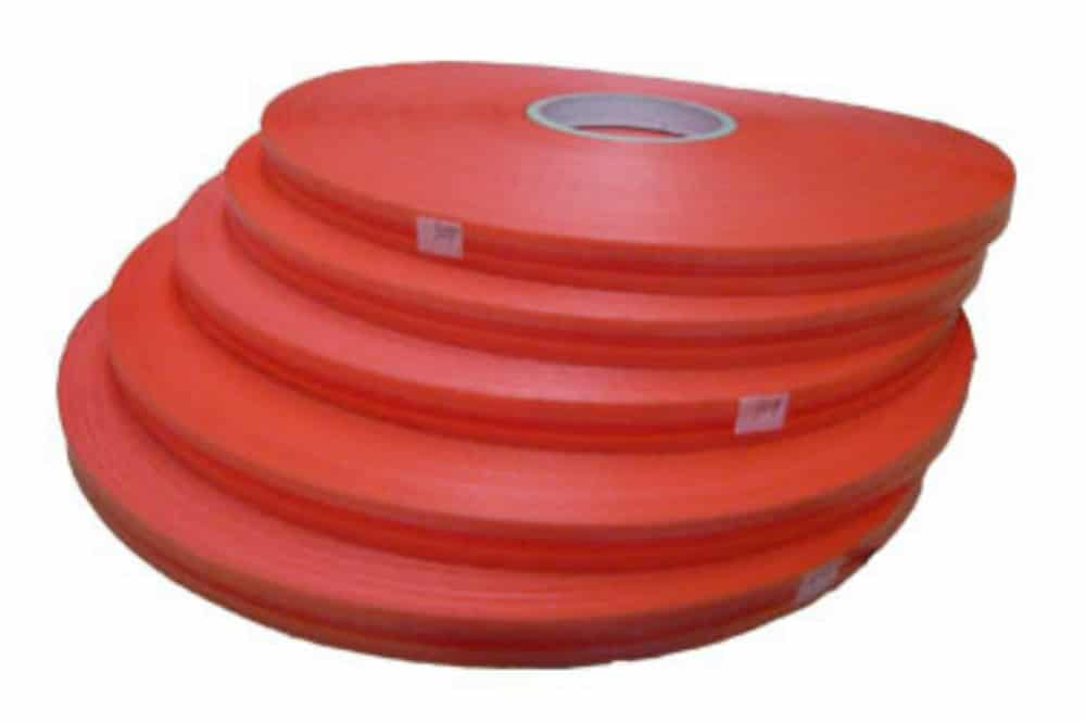 red film RESESALABLE BAG SEALING TAPE WITH HDPE RED LINER