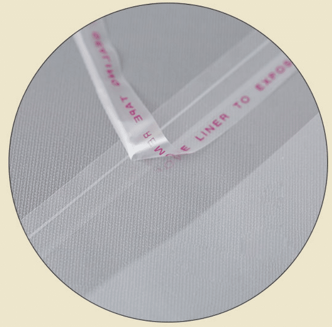 Light Peeling Bag Sealing Tape